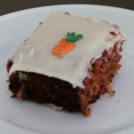 Carrot Cake Recipe–Lightened Up