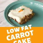 We are slimming things down with this low fat carrot cake for Easter. Plus learn how to make chocolate carrot decorations to top this cake.