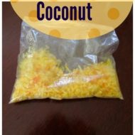 How to make colored shredded Coconut