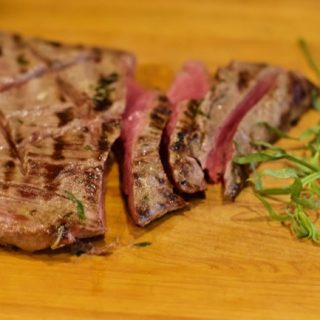 Mustard Marinated Flank Steak