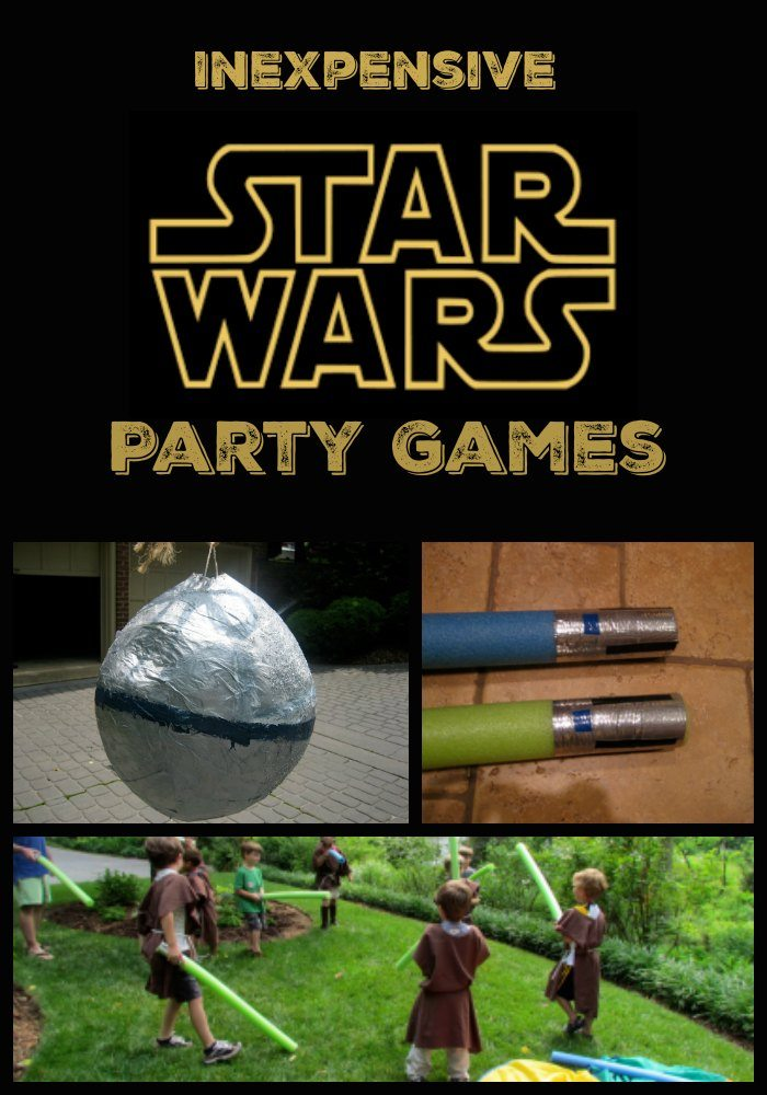 inexpensive Star wars Party Games