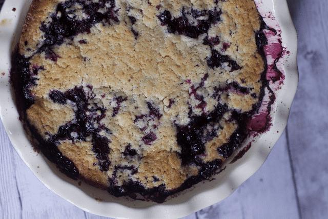 Blueberry Cobbler Recipe