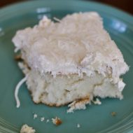 Super Moist And Easy White Coconut Cake Recipe