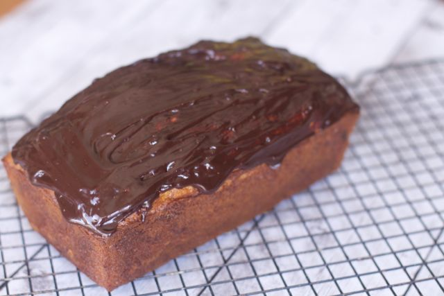 Low Fat Chocolate Glazed Banana Bread Recipe Low Fat Chocolate Covered Banana Bread Recipe