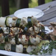 Greek Chicken Kebab Recipe: Chicken Souvlaki with Tzatziki Sauce