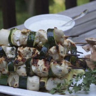 SOUVLAKI :Chicken Kebab