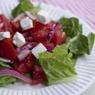 Refreshing Tomato Watermelon Salad Recipe