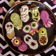 6 Fun and Easy Halloween Cookie Designs Using Nutter Butter Cookies