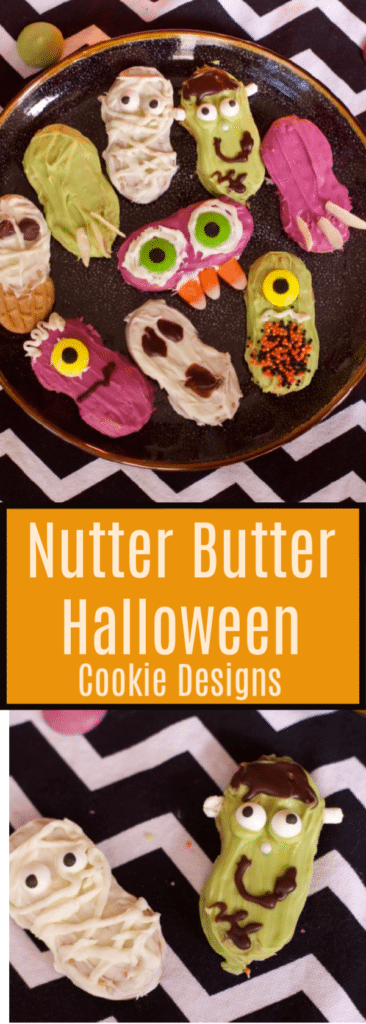 Nutter Butter Halloween Cookie Designs 1