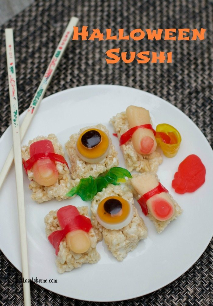 Halloween Sushi April Fools Day Pranks to play on your Kids and friends