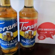 Torani Flavored Syrups Review and GIVEAWAY