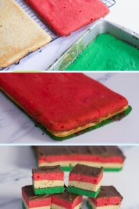 Italian Rainbow cookie recipes