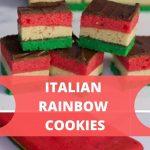 Italian Rainbow cookie Recipe