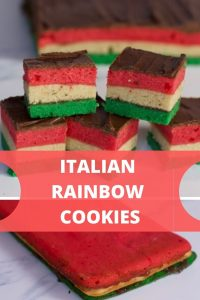 Italian Rainbow cookie Recipe