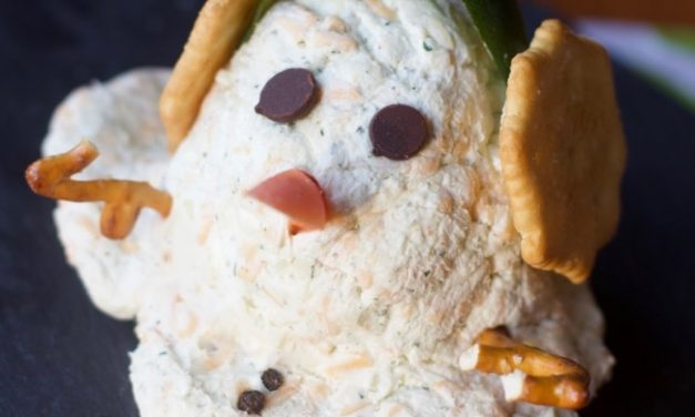 Melting Snowman Ranch Cheese Ball & Rudolph's Cocktail Recipe