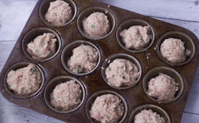 Cheese Stuffed Mini Meatloaves Recipe