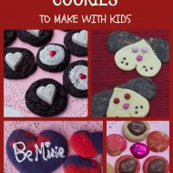 5 Valentines Day Cookies To Make with Kids
