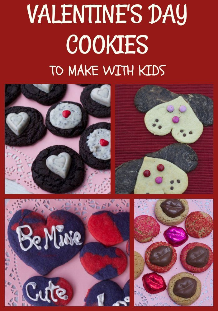 5 Valentines Day Heart Cookies To Make with Kids