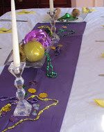 Decorating and Recipes for Mardi Gras House Party