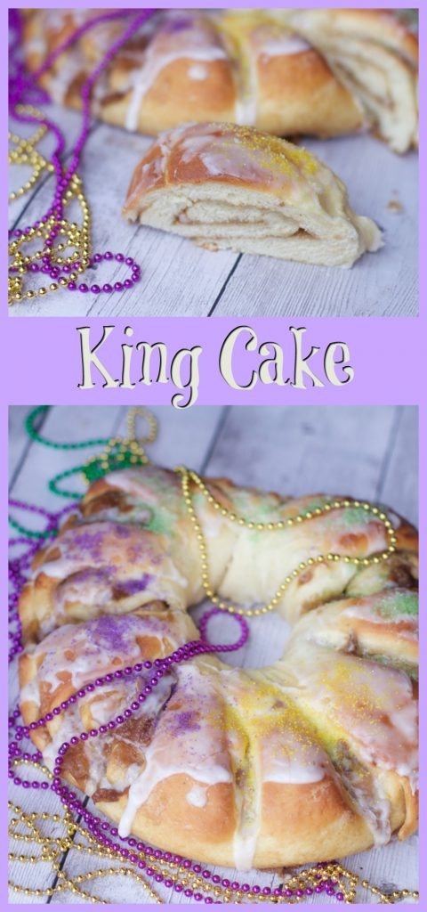 Mardi Gras Recipe: Homemade King Cake Recipe