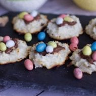 Easter Nest Macaroons : Easy Easter Cookies Recipe