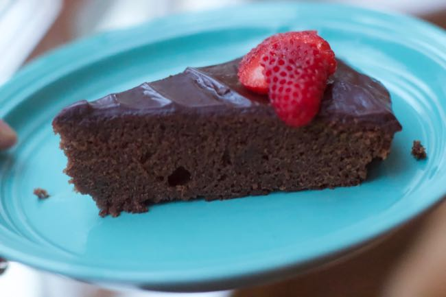 How To Make a  Flourless Chocolate Cake (Ina Garten Style)