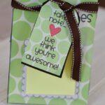 Teacher appreciation week ideas post it note holder
