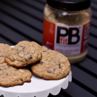 Peanut Butter Oatmeal Chocolate Chip Cookies: Baking with Peanut Butter Powder