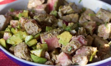 Fresh Grilled Tuna Salad Recipe- Barefoot Contessa