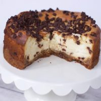 Shortcut Chocolate Chip Cookie Cheesecake