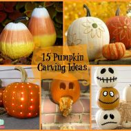 Pumpkin Face and Pumpkin Carving Ideas