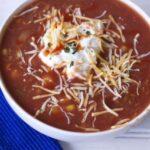 Tortilla Soup Crock Pot Recipe