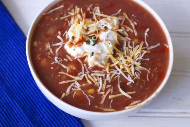 Crock Pot Tortilla Soup Recipe