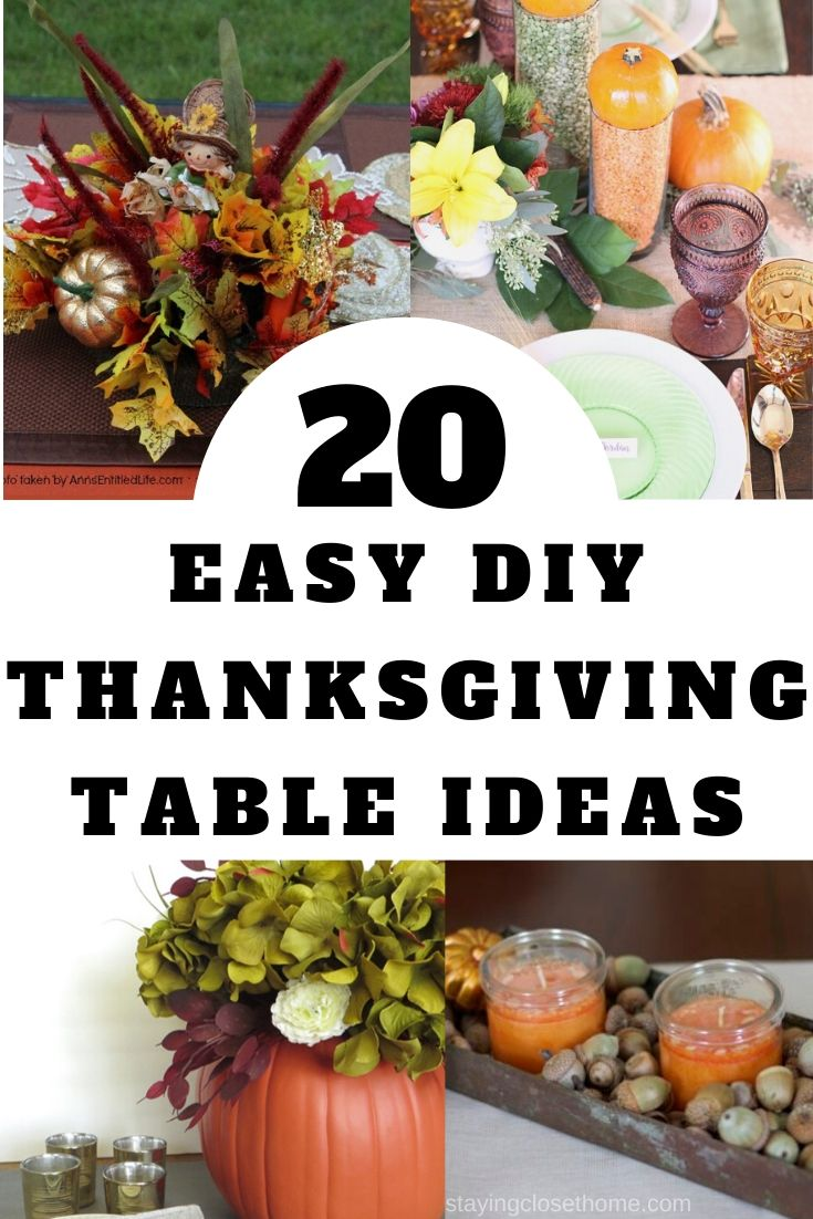 20 Easy Thanksgiving table settings (2)
