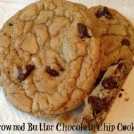 Brown Butter Chocolate Chip Cookies-