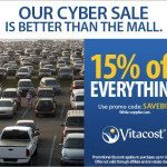 CYBER Monday Deals starting now with VITACOST.com