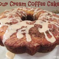 Make ahead Sour Cream Coffee Cake Recipe