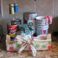 Hot Cocoa Portable Bar–Perfect for the Holiday Season or Great Gift