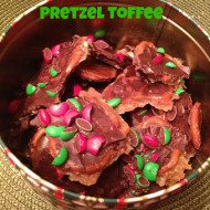 Pretzel Toffee–A great last minute gift or dessert