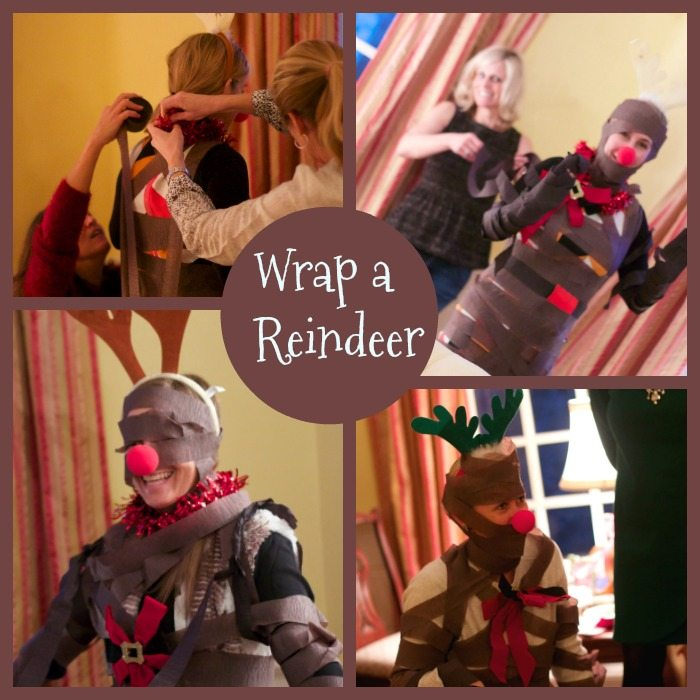 wrap a reindeer christmas party games