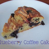 Blueberry Coffee Cake –Lightened Up