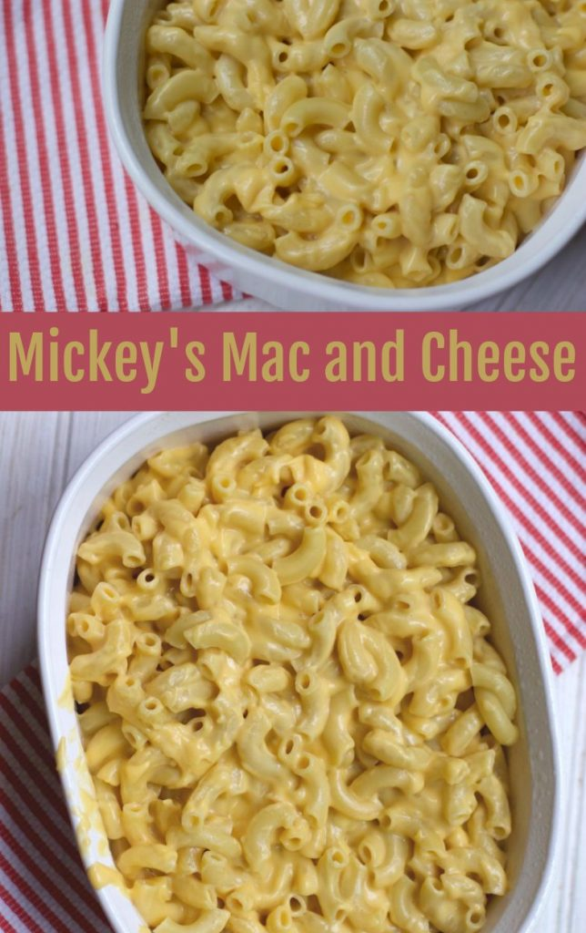 Mickey's Mac and Cheese -A Disney Cruise RecipeMickey's Mac and Cheese -A Disney Cruise Recipe