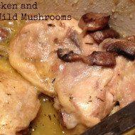 Chicken with Wild Mushrooms – Barefoot Contessa Style
