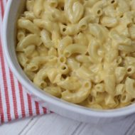 Mickey's Mac and Cheese -A Disney Cruise Recipe