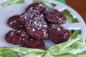 Red Velvet Cookies Recipe with White Chocolate Chips