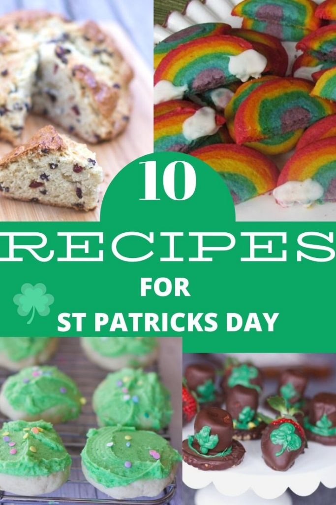 Recipes ofr St Patricks Day