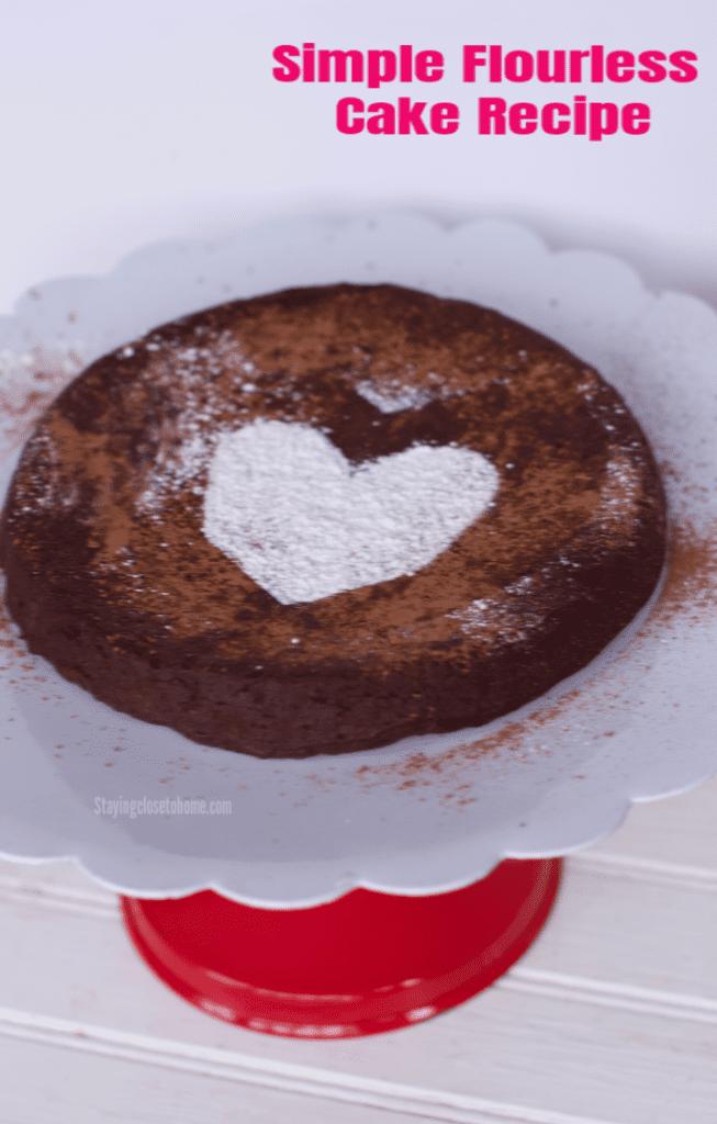 Simple Flourless Chocolate Cake Recipe 5 ingredient Flourless Chocolate Cake Recipe