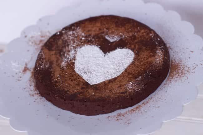 Simple fLourless chocolate Cake Recipe