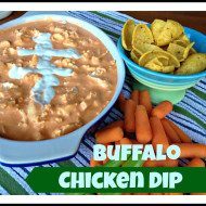 Buffalo Chicken Dip aka Man Dip Super Bowl Favorite