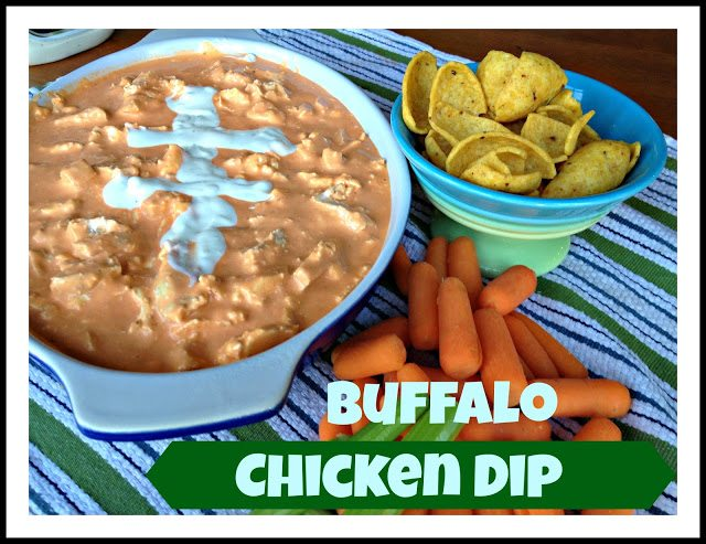 Buffalo Chicken Dip aka Man Dip Super Bowl Favorite